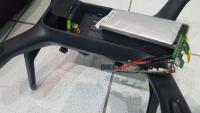 Montage de batterie lithium polymere introuvable pour un DRONE