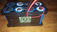 Réalisation d'une batterie lithium LiFEPO4 pour un systéme solaire embarqué