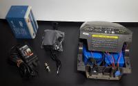 Réalisation de batterie de tondeuse à gazon éléctrique en lithium
