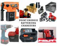 Batteries et chargeurs pour outillage portatif-perceuse-viseuce-perfo PRO